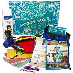 Doggy-Boxx Puppy (13 Teile) Geschenkbox Set für Hunde & Hundeliebhaber