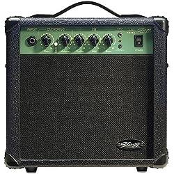 Stagg Stagg - Amplificador de guitarra eléctrica 10 W, color negro