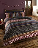 De cama Ethnic Indian Print Bedding - Quilt Cover Bed Set With Pillow Cases (double), Multi