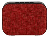 #6: Live Tech Portable Yoga Bluetooth Wireless Speaker with USB/Micro SD/FM/AUX/Mic - Black (Red)