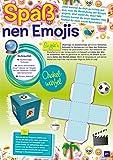 Das große Buch der Emojis: Stickern...