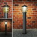 Aussenleuchte Aussenlampe Standleuchte Wegeleuchte Edelstahl 249-800 von Maxkomfort auf Lampenhans.de