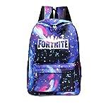 Fortnite School Backpack,Student Stylish Unisex Canvas Laptop Book Bag Rucksack Daypack for Teen Boys and Girls