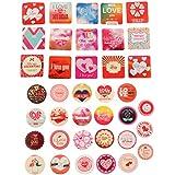 Pegatinas Calcomanías Adhesivas de Amor Decoración para Tarjeta de Cumpleaños Notas