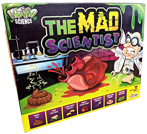 Mad Scientist Kit - THE MAD SCIENTIST KIT GAME EXPERIMENT