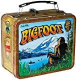 Bigfoot Sasquatch Cryptid Metal Retro Lunchbox by Archie McPhee