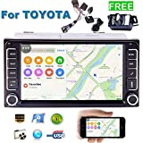Eincar 7 pollici ricevitore stereo universale 2 DIN MP5 Player capo unit¨¤ HD Digital Touchscreen In-Dash Car Headunit Deck Radio FM Audio Video Bluetooth USB TF SD ingresso Aux con telecamera posteri