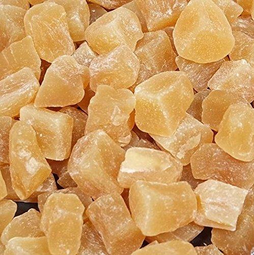 cubitos de jengibre suaves 1kg, deshidratados y escarchados, frutos secos delicados no-sulfurados
