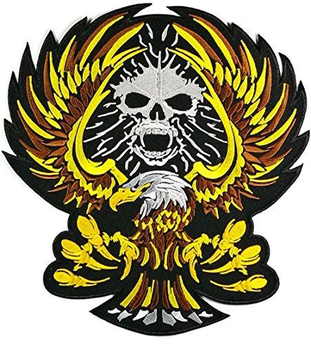 ter Eagle Hawk Outlaw Jacket T Shirt Patch Sew Iron on gesticktes Badge Schild Kostüm ()