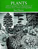 Plants: 2,400 Royalty-Free Illustrations of Flowers, Trees, Fruits and Vegetables: 2400 Designs (Dover Pictorial Archives)