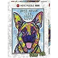Comparador de precios Heye 29732 - Puzzle estándar, los perros nunca mienten 1.000 partes, Dean Russo, multicolor - precios baratos
