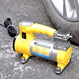 FWQPRA Portable air Compressor is Heavy 12 V 150 psig. inch tire Pump Motorcycle Care Tools Tool