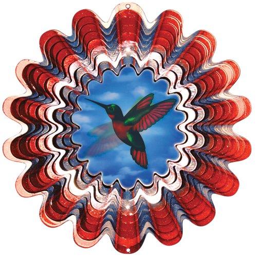 Iron Stop Windspinner Animierter Windspinner, Kolibri, 25 cm -