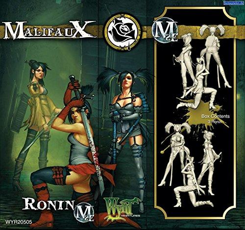 Wyrd Miniatures Malifaux (Jeu) Ronins Modèle kit (Lot de 3)