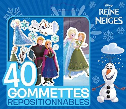 REINE DES NEIGES - Petite Pochette de 40 Gommettes