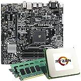 AMD Ryzen 5 1600 / ASUS PRIME B350M-A / 32GB Mainboard Bundle | CSL PC Aufrüstkit | AMD Ryzen 5 1600 6x 3200 MHz, 32 GB RAM, GigLAN, 7.1 Sound, USB 3.1 | Aufrüstset | PC Tuning Kit