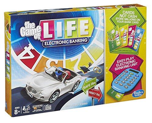 Hasbro - Brettspiel - Spiel des Lebens E-Banking