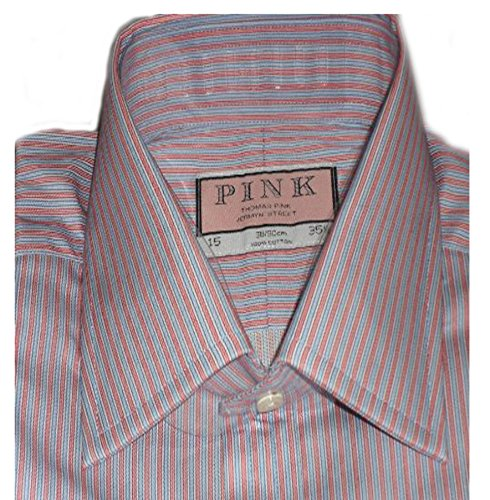 thomas-pink-mens-westminster-stripe-shirt-15l-red-blue-stripes