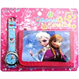 Frozen Children's Watch Wallet Set For Kids Children Boys Girls Great Christmas Gift Gifts Present - Sold by Happy Bargains Ltd
