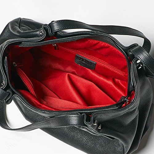 Cherry paris- shanghai- Tasche getragen épaule- cuir- Damen taupe