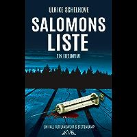 Salomons Liste: Ein Eifelkrimi -10- (Ein Fall für Ilka Landwehr & Alex Stettenkamp) (German Edition)