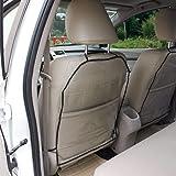 Anjien Autositzschoner Rückenlehne Kinder Rückenlehnenschutz Auto, Anti-Schmutzig Autositzschutz Rückseite, 2 Stück…