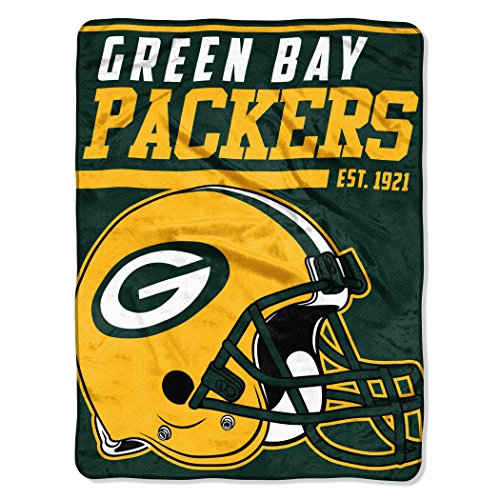 Northwest Green Bay Packers Super Plush NFL Decke Test