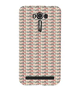 ifasho Designer Phone Back Case Cover Asus Zenfone 2 Laser ZE601KL (6 Inches) ( Ancient Pattern Design )