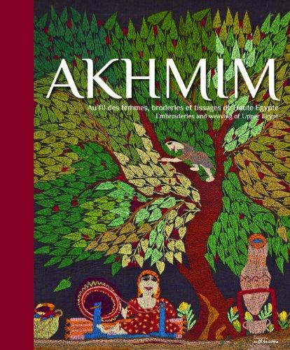 AKHMIN, broderies et tissages de Haute-Egypte