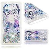 Everainy Sony Xperia XZ2 Compact Hülle Silikon Transparent 3D Flüssig Glitzer Durchsichtig Stoßstange Cover für... preisvergleich bei billige-tabletten.eu