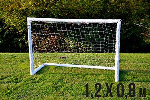 Prezzo Speciale! Mini Porta da Calcio per Bambini Fun - 1,2 x 0,8 m - Resistente, Sicura e con Garanzia