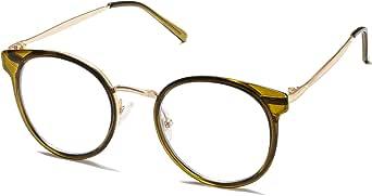 SOJOS Occhiali da Vista Classici Quadrati Blu Chiaro Occhiali da Computer Retr/ò SJ5060
