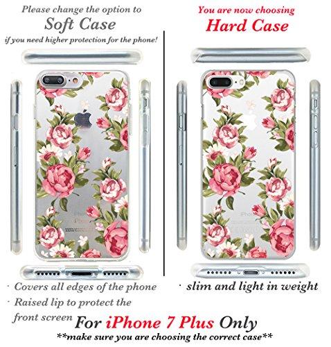 iPhone 7custodia, Casesbylorraine carino modello custodia rigida in plastica per Apple iPhone 7, I33, iPhone 7 Plus Hard Case E06