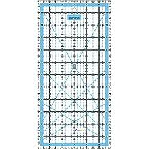 "Quilting Patchwork Regla giratorio Craft Rectángulo Imperial–12""X 6"""