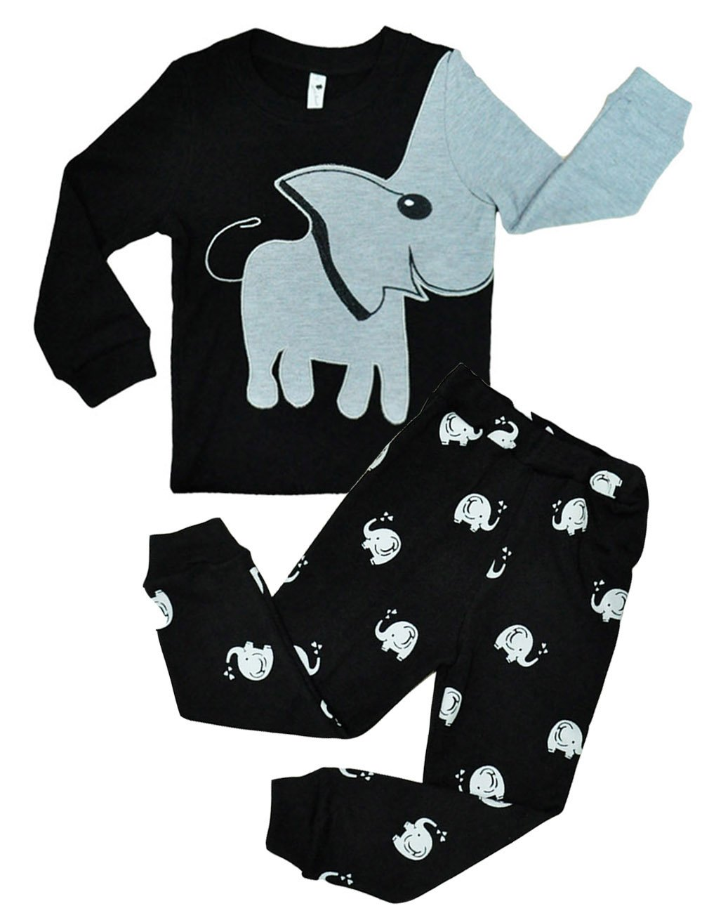 Tkria - Pijama para Niños de Dinosaurio 1 Años - 7 Años 2