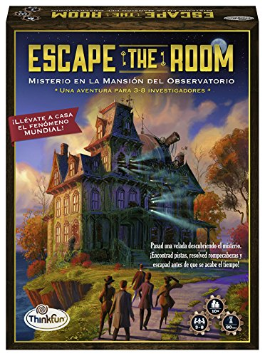 Think Fun Escape Room Misterio en la mansión del observatorio (Ravensburger 76314)