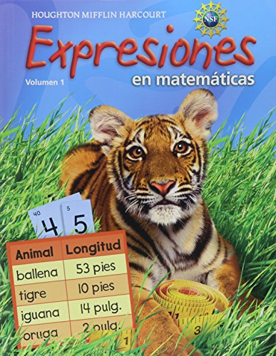 Math Expression, Grade 2 Student Activity Book: Houghton Mifflin Harcourt Math Expression Spanish: 1 (Math Expressions 2009-2012) por Hm