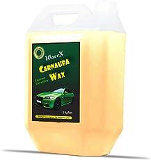 WaveX CPSL5K Brazilian Carnauba Wax Car Polish and Micro Fiber Cloth (5 L)