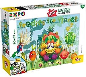 Lisciani 50543-Expo Puzzle DF Plus, 108Piezas
