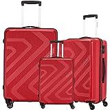American Tourister Polypropylene Small - 55 cm, Medium - 68 cm & Large - 79 cm Hard Trolley Bag (Set of 3) (ZKK…