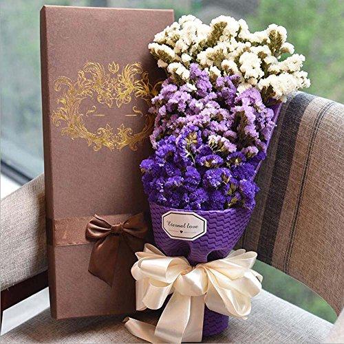 Valentinstag Geschenk Trockenblumen Dekoration Künstliche Blumen Seidenblume Engagement Bouquet Braut Brautjungfer Hand gebunden Blume
