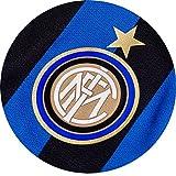 Dolce idea CIALDA in ostia Logo INTER forma rotonda diam. 20 cm personalizzabile, decorazione per torta