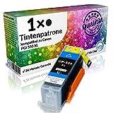 N.T.T.® - 1 x Stück XL Tintenpatrone / Druckerpatrone kompatibel zu PGI-550PGBK Black / Schwarz - MX725 MX925 iP7250 MG6350 MG5450