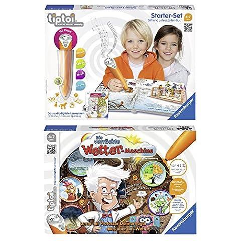 Ravensburger tiptoi® 2er Set 00506 00757 Starter-Set mit Stift und
