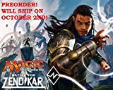 Magic the Gathering (MTG) Battle for Zendikar - 3 Booster Packs (15 cards per pack) - Pre-Order Ships After Oct 2nd by Wizards of the Coast