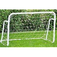 """nanook """"Wembley"""" - Fußballtor Garten groß, wetterfest - mit Ersatznetz - 120 x 80 x 60 cm"""