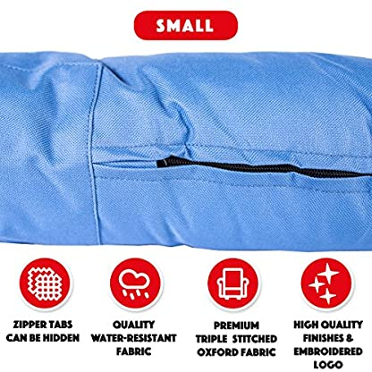The Dog's Bed, Premium Water Resistant Dog Beds, 5 sizes, 7 Colours, Quality Durable Oxford Fabric & Designed for… 4