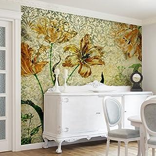 Vintage wohnzimmer grun  Vliestapete vintage grun | Heimwerker-Markt.de