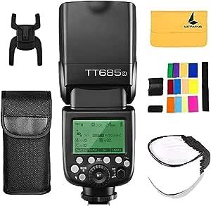 Godox Tt685c Ttl Hss 1 8000s Gn60 2 4g Wireless Flash Camera Photo