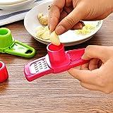 TiooDre 1 Pz Aglio grattugia francese Aglio Grattugia multi funzionale Ginger Aglio Grinding grattugia Planer affettatrice Mini taglierina da cucina utensili Utensili da cucina Accessori Cucina-Red